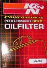 Polaris RZR/ RZR S K&N Oil Filter