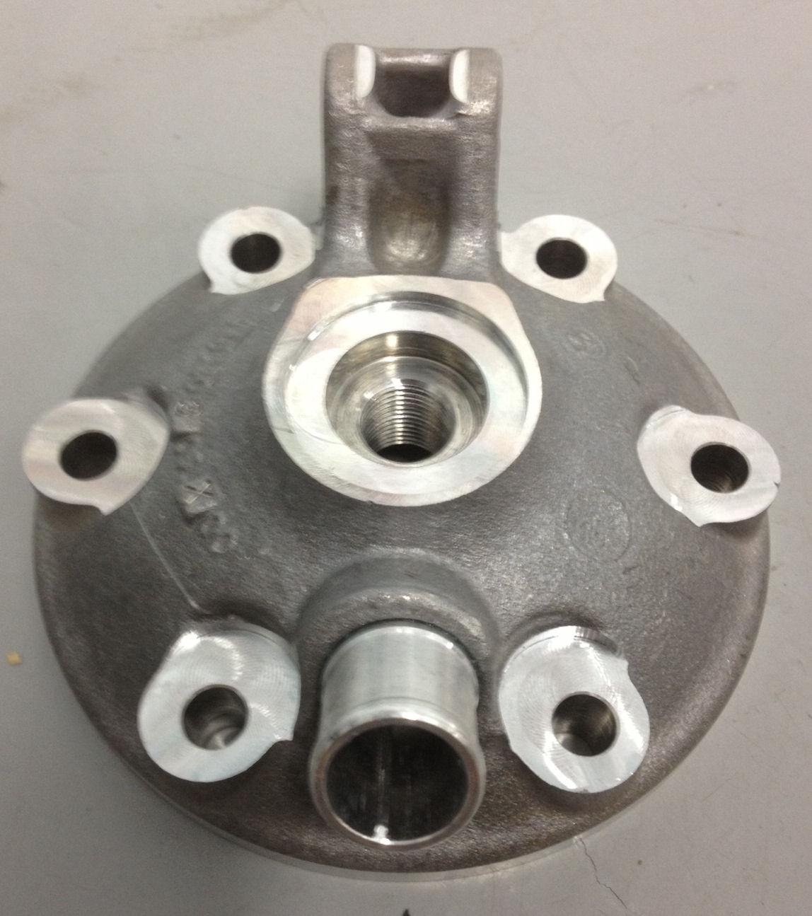 Ktm Sx  Cylinder Head