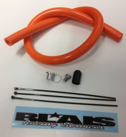 2012-16 KTM 450/500 EXC/ 14-16 Husqvarna FE501 S Block off/ Delete Kit & Breather Hose Relocation for Racing