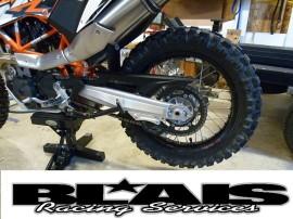 KTM 690 2008-2014 BPD Full Protection Swing Arm Guards- Lifetime Warranty