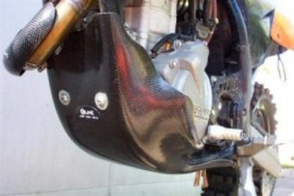 KTM 250 XCF and XCF-W ELINE Skid Plate (2007)