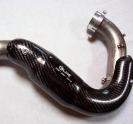ELINE HONDA CRF450 PIPE GUARD FMF POWERBOMB (2004-08)
