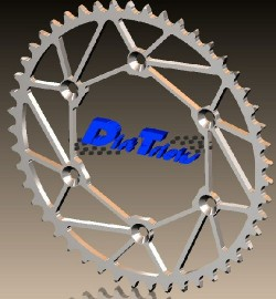 Dirt Tricks Suzuki Rear Sprocket