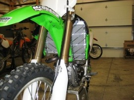 KAWASAKI KX450F/KLX450R Radiator Guards