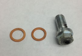 HT Racing Replacement Check Valve Banjo Bolt for 2008-2011 HT Oil Coolers