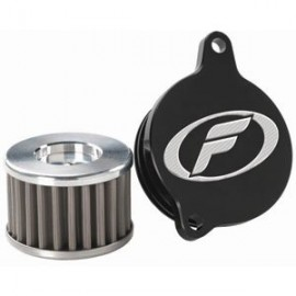 Filtron Stainless Steel Oil Filter & Cover, 04-09 Honda CRF250R/X