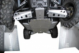 Pro Armor Front A-Arm Armor for RZR S/ RZR 4