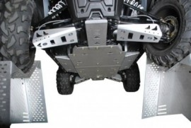 Pro Armor Full Skids with A Arm Guards for RZR 4