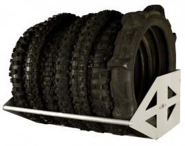 RB Components Motorcycle Tire Rack