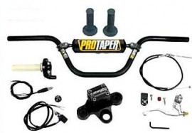 Two Brothers Racing Handlebar & Pro Clamp Kit for Honda XR/CRF50