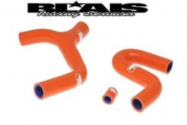 2012-16 KTM 350 EXC/XCW Samco Sport Radiator Hose Kit, Eliminates Thermostat