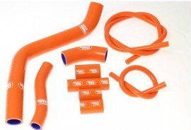 2006-2009 KTM 950 SuperEnduro R/ SuperMoto Samco Sport Radiator Hose Kit, Orange