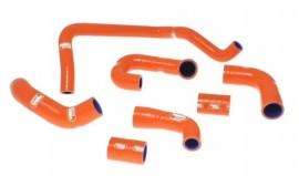2008 KTM SuperDuke R Samco Sport Radiator Hose Kit, Orange