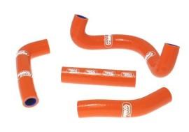 2009-2011 KTM 50SX Samco Sport Radiator Hose Kit, Orange
