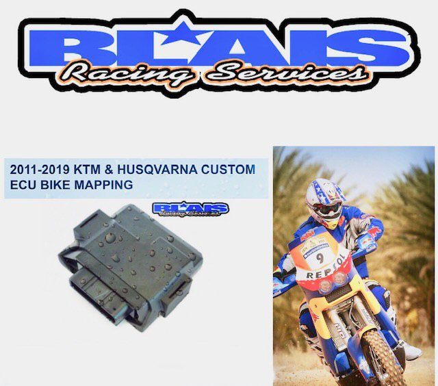 2011-2020 KTM & HUSQVARNA CUSTOM ECU BIKE MAPPING/ FLASHING - Blais