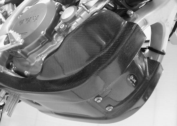 Yamaha Carbon Fiber Skid Plate 06 09 Yz450f 07 09 Wr450f