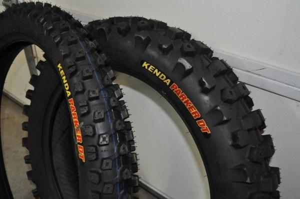 Kenda Parker DT Desert/ DOT Dual Sport Tires - Blais Racing