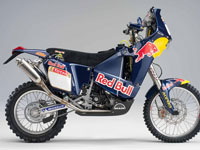 New KTM 690 Rally machine- Chris Blais #4 Dakar Rally